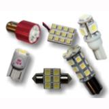 Светодиоды габаритные, для салона и сигнальные