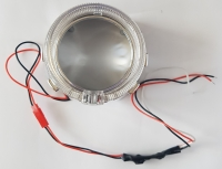 """Маска для линзы 2,5"""" с LED кольцом """"ангельский глаз"""""""