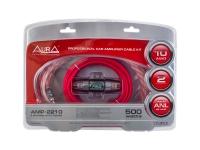 Провода для подключения усилителя 2-ух канального AURA AMP-2210