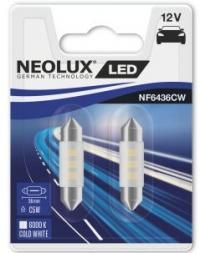 Пара светодиодных ламп C5W NF6436CW-02B