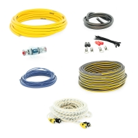Набор проводов для подключения 2-ух канального усилителя SWAT PAC-T8