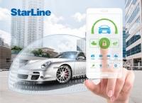 Автосигнализация с автозапуском StarLine A93 V2 GSM ECO с двусторонним брелком с ЖК дислпеем