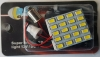 Cветодиодная плата Runoauto 5630 20 SMD W5W (T10, W2.1x9.5d), T4W (BA9s), C5W (Festoon, SV8.5-8) от 31 до 41 мм.