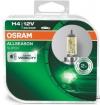 Галогенные лампы H4 OSRAM ALLSEASON SUPER (пара)