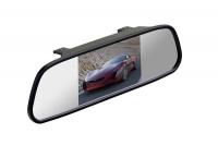 """Зеркало с монитором 4,3"""" для камеры заднего вида INTERPOWER"""